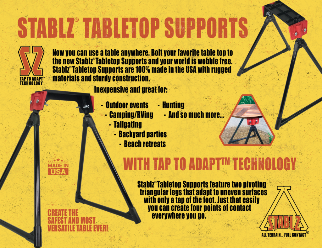 STABLZ Tabletop Supports