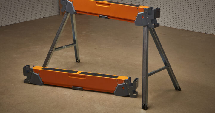 Bora All Terrain Sawhorse with Stablz - Folding Portability
