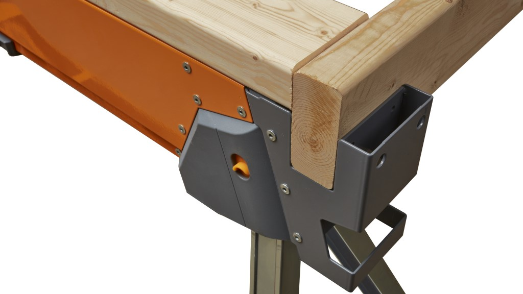Innovative All Terrain Sawhorse