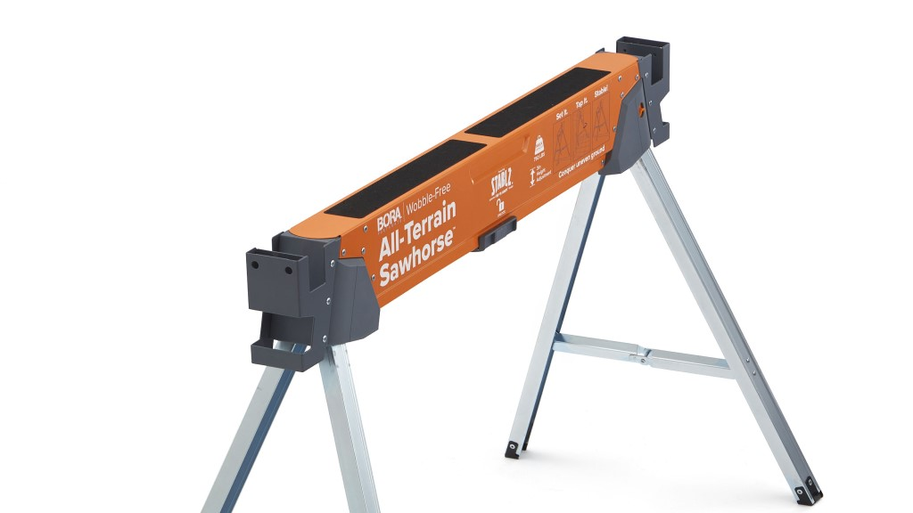 All Terrain Sawhorse with Non Slip Top