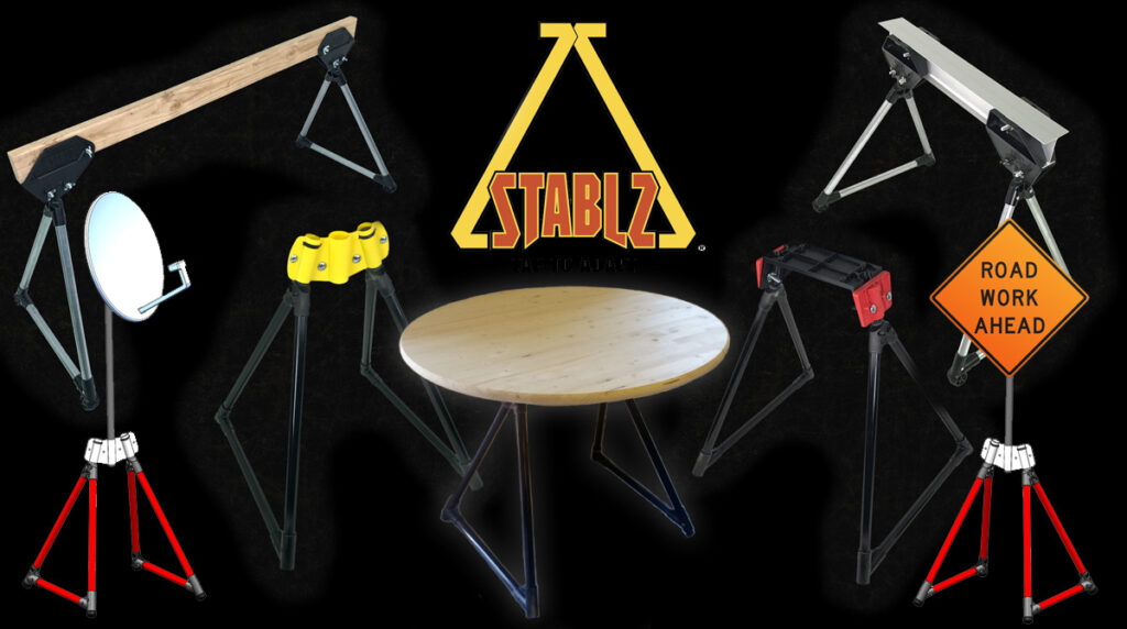 STABLZ All Terrain Products featuring Tap To Adapt™ Technology