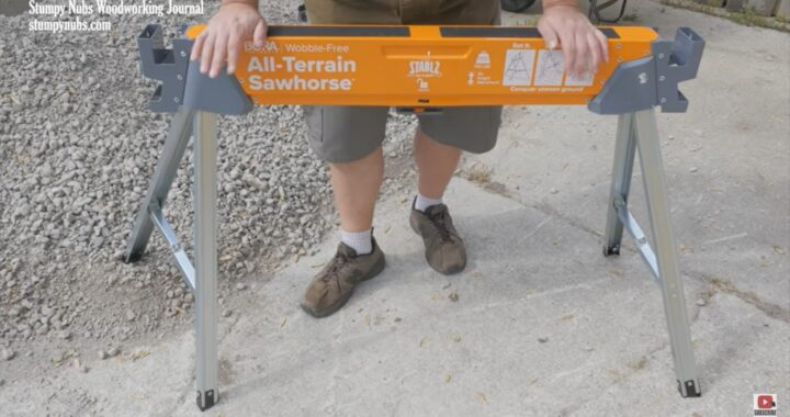 All-Terrain Sawhorse for Woodworking