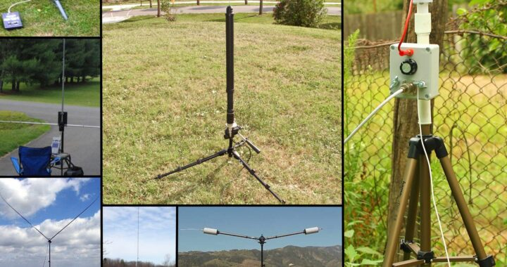 HRO Antenna Tripod Bases