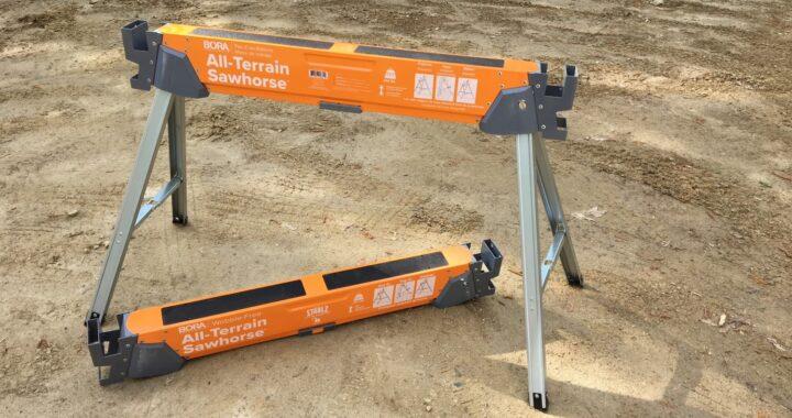 Woodworking Network Reviews the Bora® Portamate All-Terrain Sawhorse
