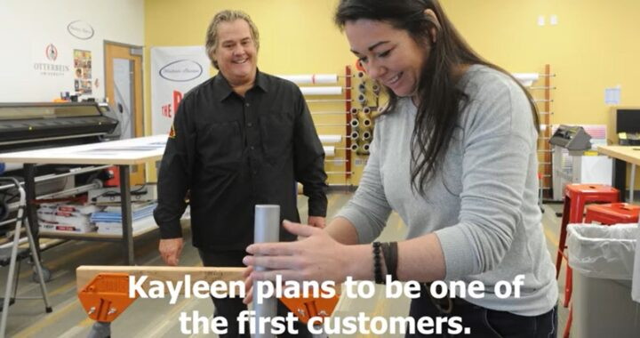 Kayleen McCabe Plans to be First STABLZ Customer